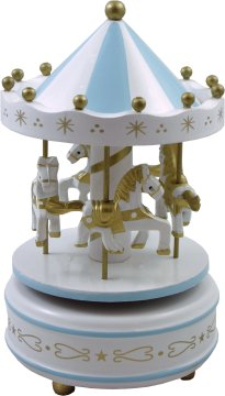 Wood Musical Carousel