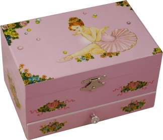 Eloise Ballerina Musical Jewellery Box from Magical Music Boxes UK