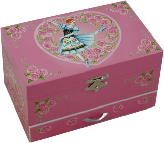 Doll On A Music Box Ballerina Musical Jewellery Box from Magical