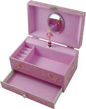 Hushabye Mountain Musical Jewellery Box with Ballerina Figure from
