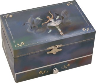 Swan Lake Musical Jewellery Box