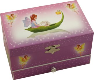 Fairy Musical Jewellery Box with Fairy Figurine from Magical Music