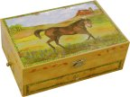 Enchantmints Stallion Stable Musical Jewellery Box