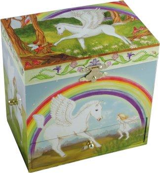 Enchantmints Musical Treasure Boxes Pegasus Musical Jewellery Box