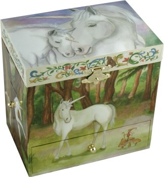 Enchantmints Musical Treasure Boxes Unicorn Musical