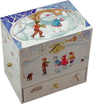 Christmas Musical Treasure Box