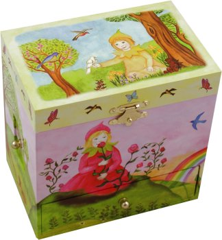 Enchantmints Musical Treasure Boxes Spring from the Four Seasons