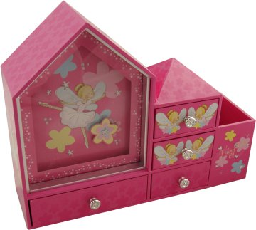 Fairydust Musical Jewellery Cabinet from Magical Music Boxes UK ...