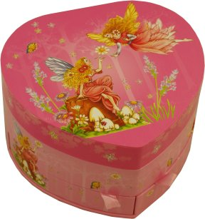 Magical Fairies Musical Jewellery Box with Fairy Figurine from