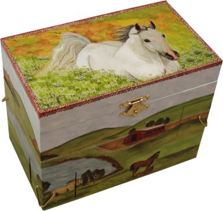 Misty Musical Jewellery Box