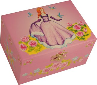 Princess Ella Musical Jewellery Box