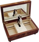 Musical Jewellery Box with Ballerina Figurine