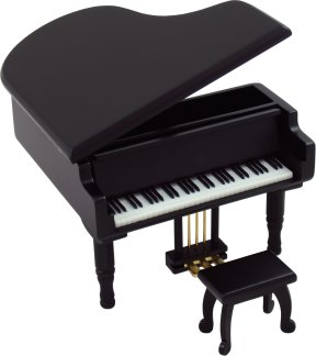 Miniature Musical Grand Piano