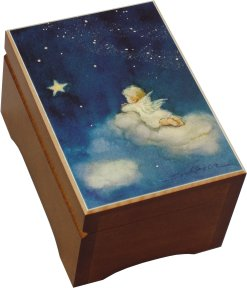 'Wish Upon A Star' Picture Music Box